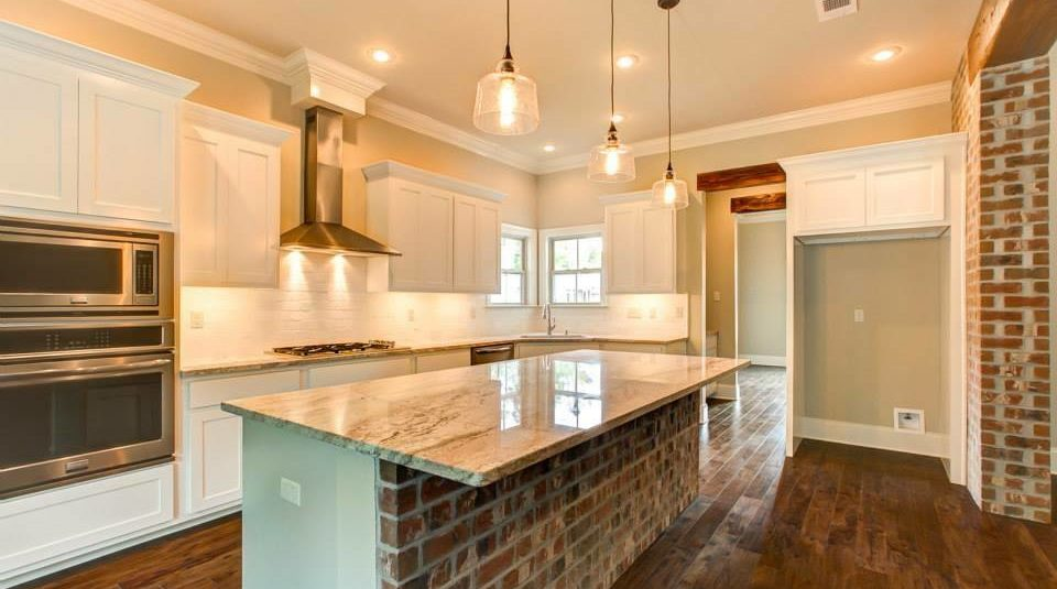 custom kitchen by warshauer construction